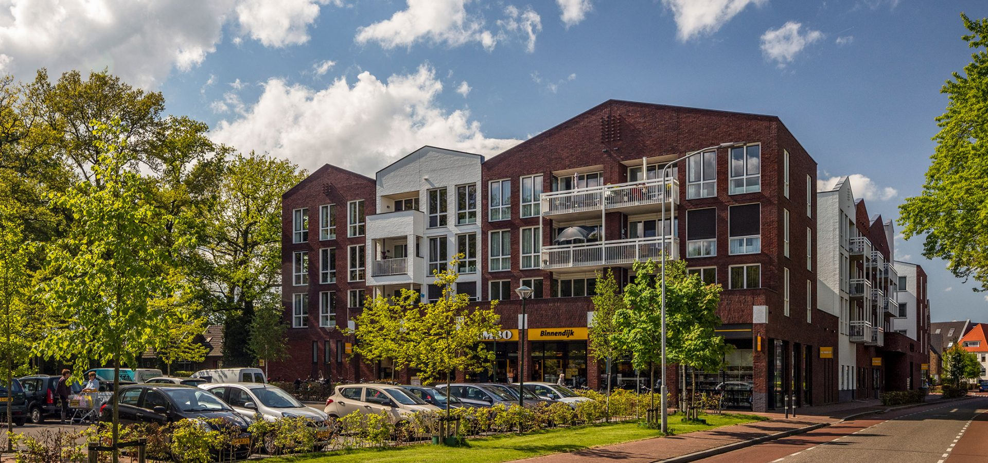 FARO architecten Supermarkt en woningen Twello