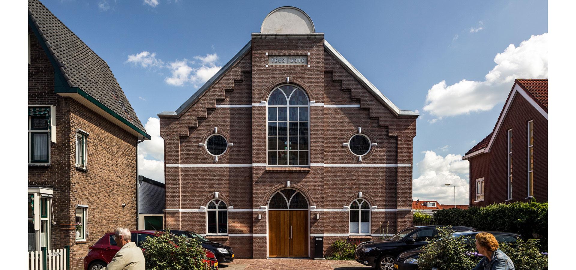 FARO architecten herbestemming kerkje Alphen aan den Rijn 12