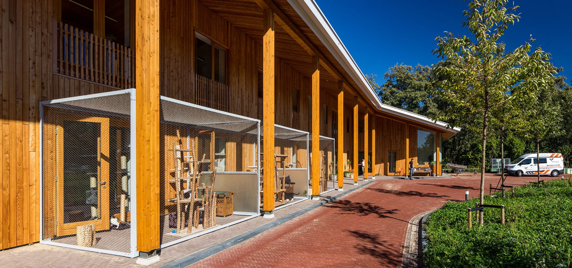 FARO architecten Dierenambulance Den Haag header
