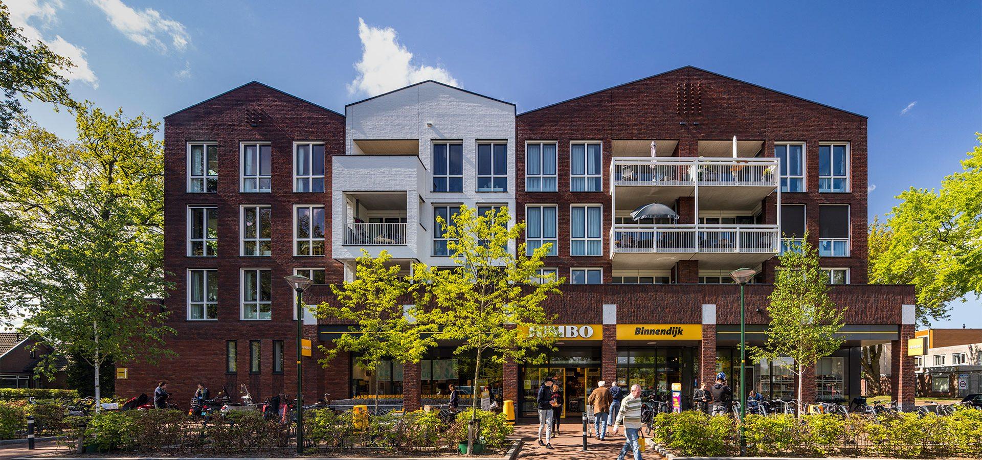 FARO architecten Supermarkt en woningen Twello 03