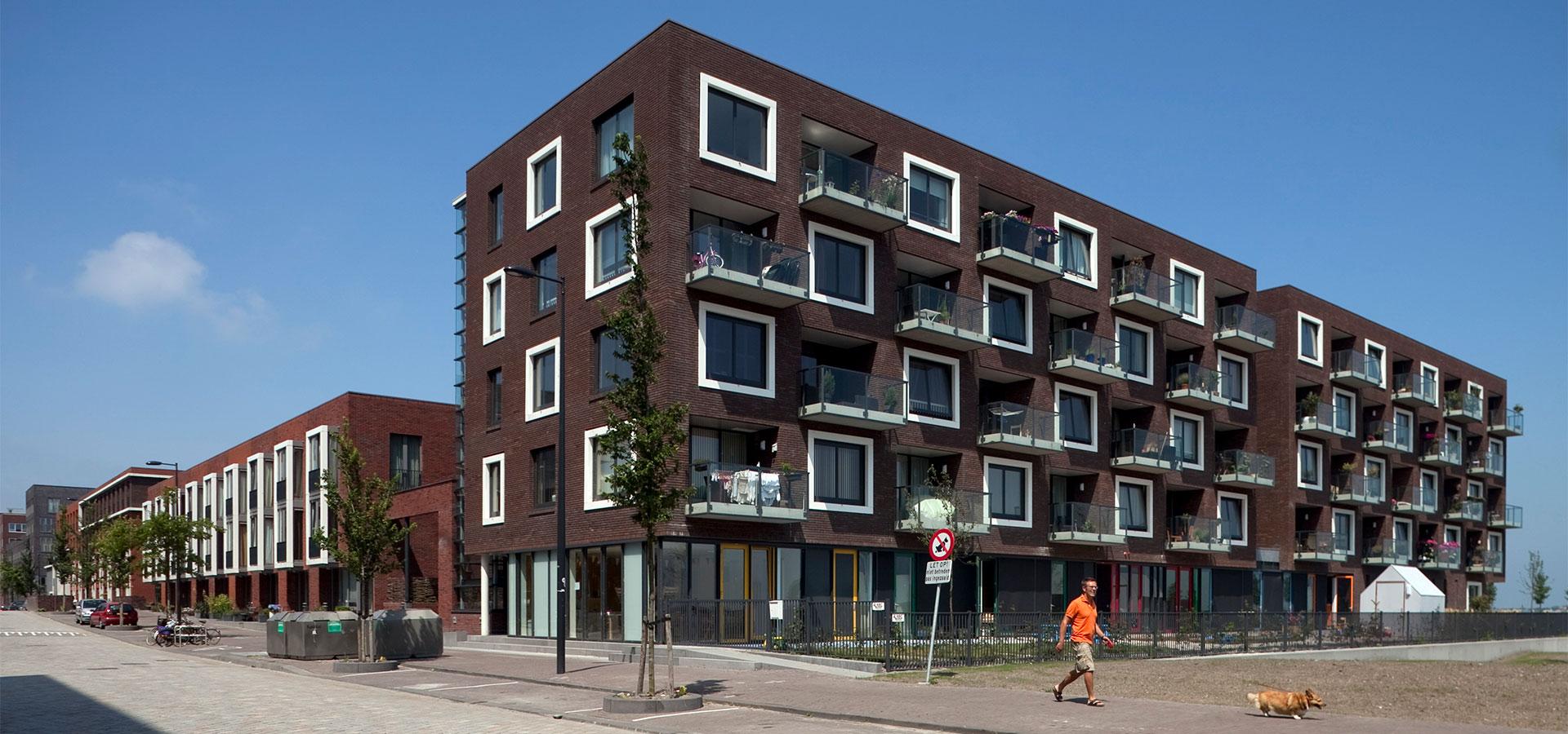 FARO architecten Blok 25 Haveneiland IJburg Amsterdam 09