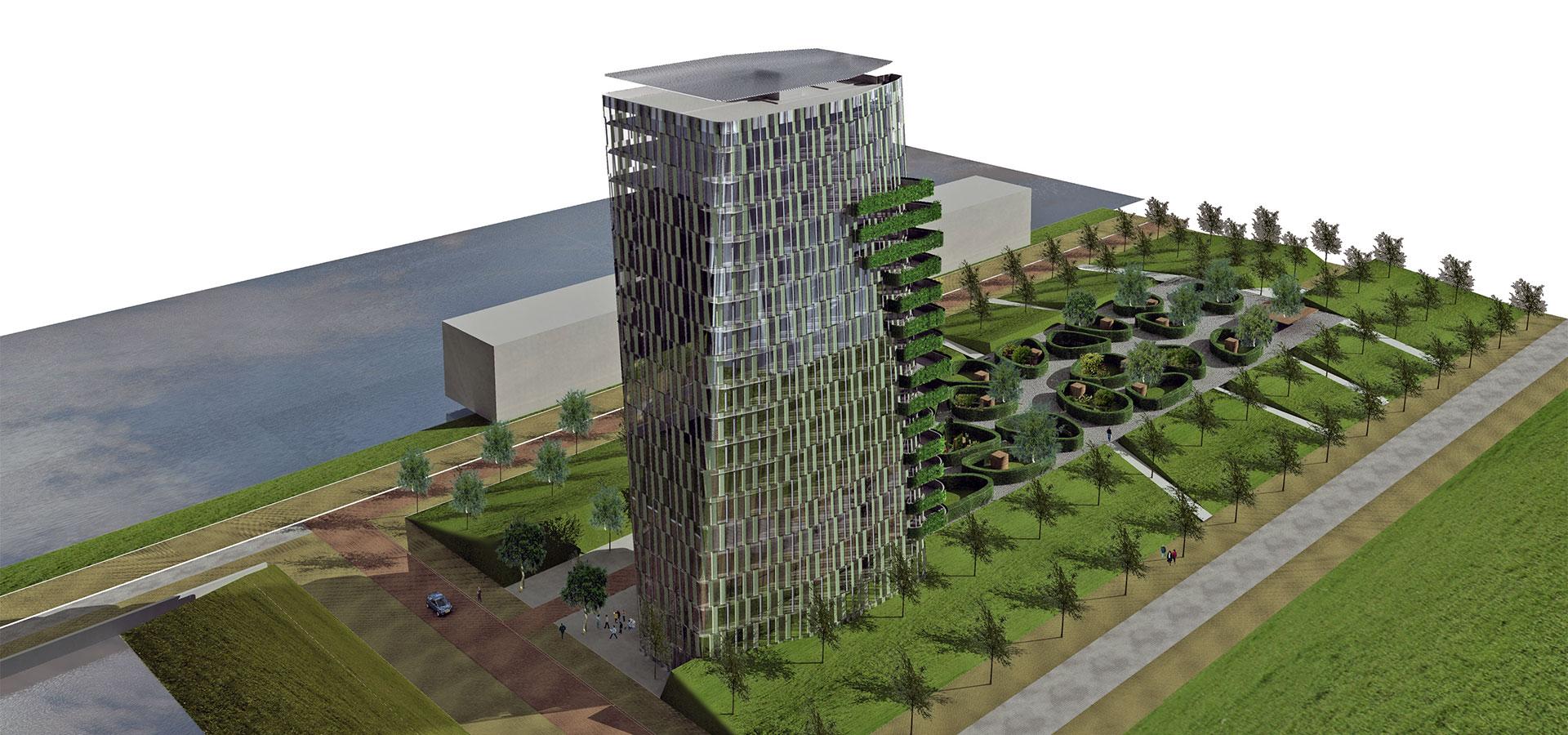 FARO architecten Casa Cascada Cascadepark Almere 01