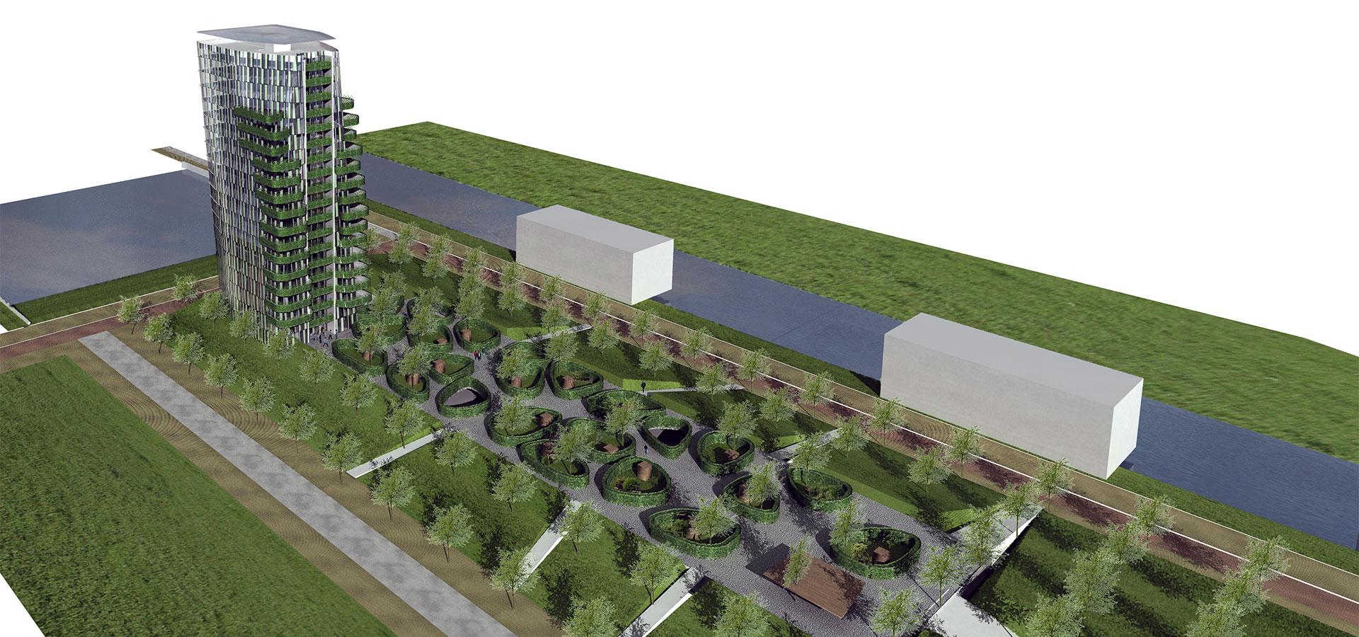 FARO architecten Casa Cascada Cascadepark Almere 02
