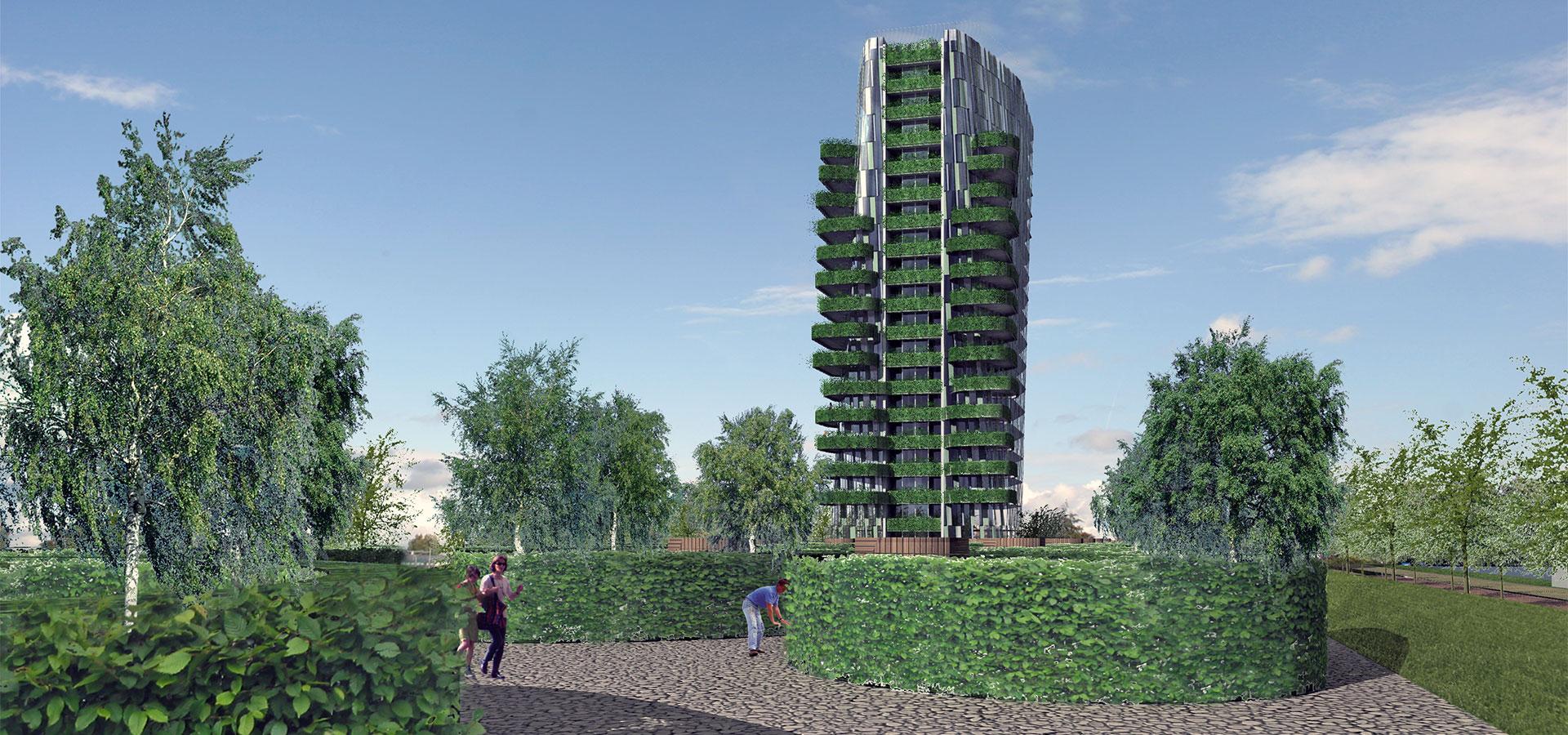 FARO architecten Casa Cascada Cascadepark Almere 03