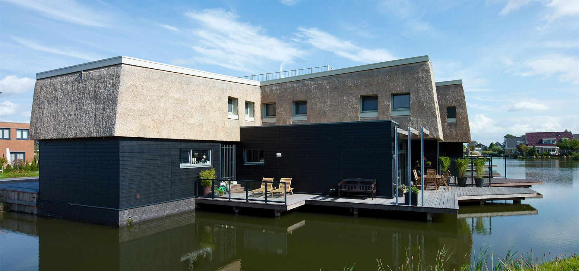 FARO architecten Waterwoningen Nesselande Rotterdam 02