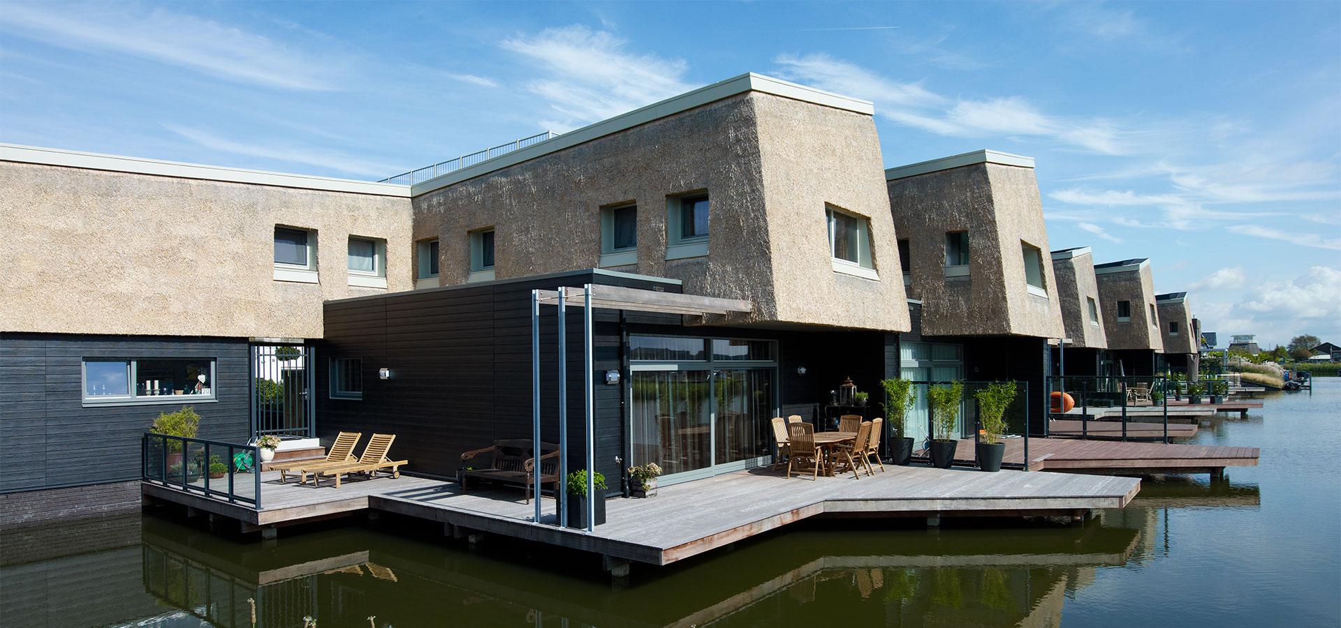 FARO architecten Waterwoningen Nesselande Rotterdam 03