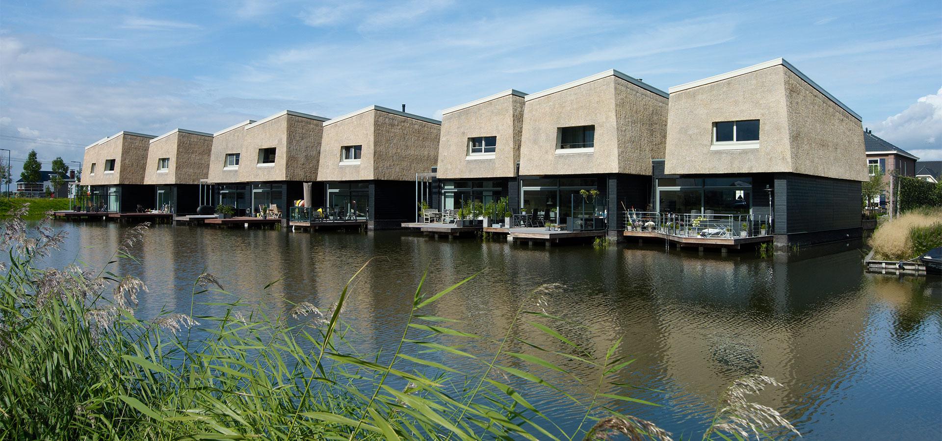 FARO architecten Waterwoningen Nesselande Rotterdam 04