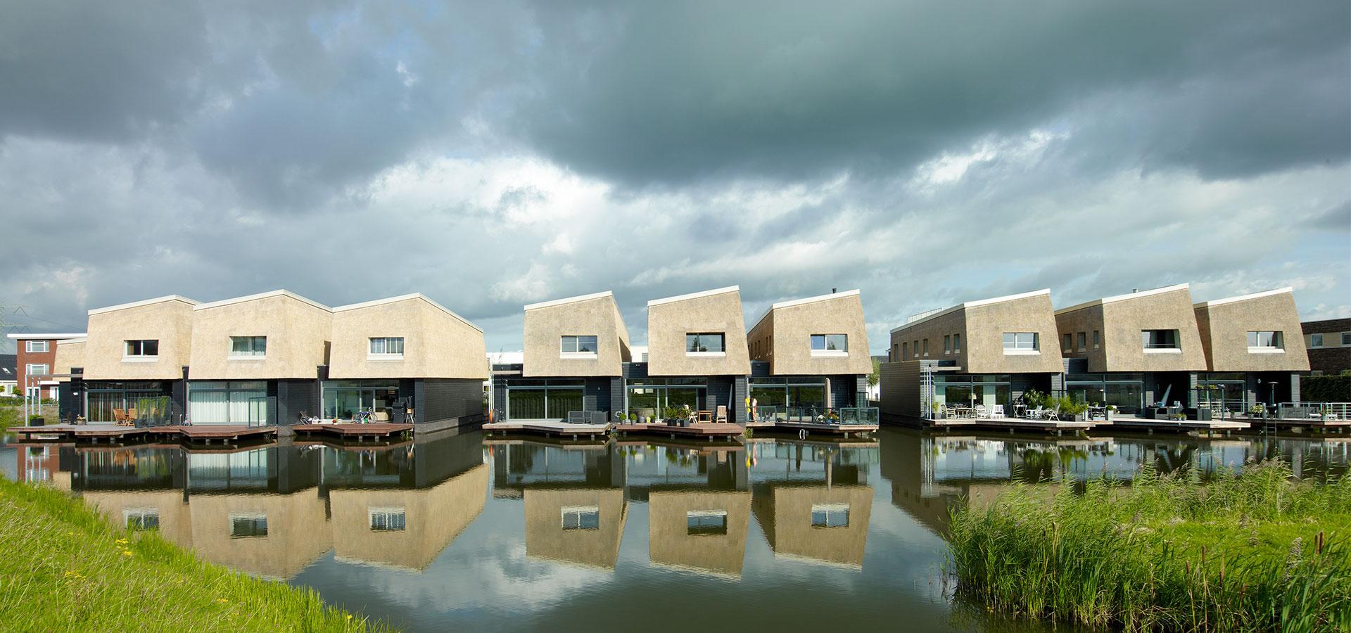 FARO architecten Waterwoningen Nesselande Rotterdam 05