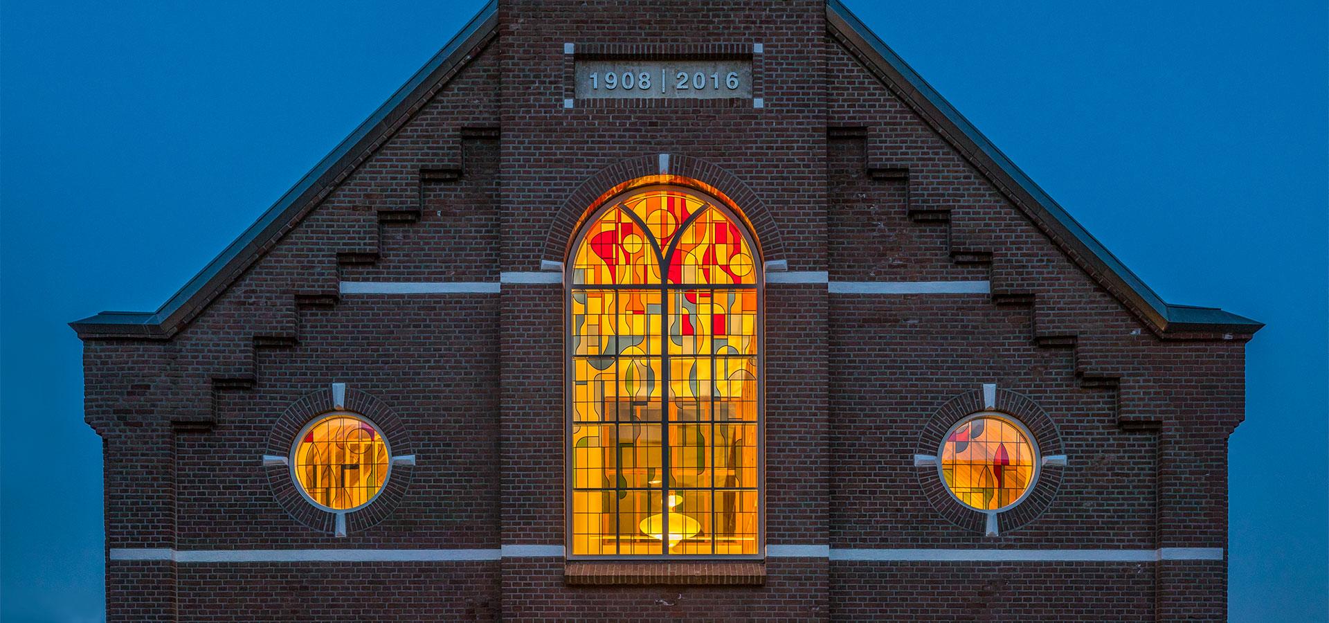 FARO architecten herbestemming kerkje Alphen aan den Rijn 01