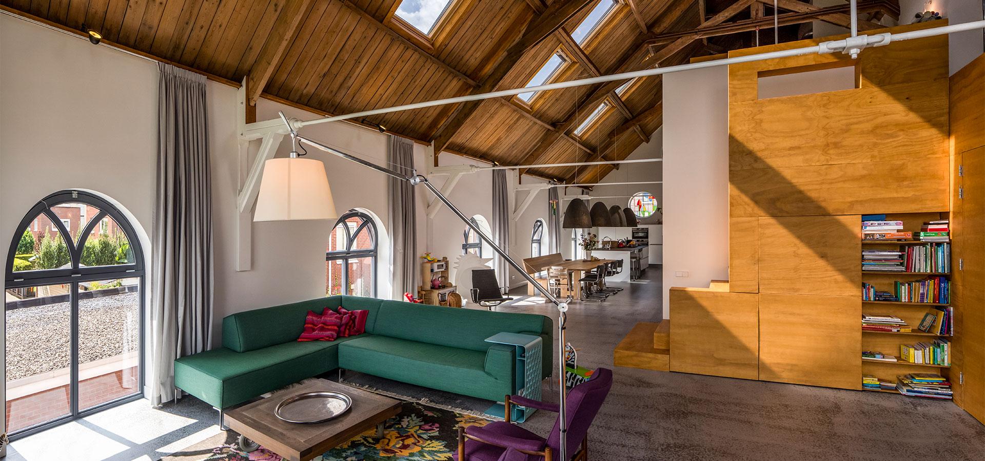 FARO architecten herbestemming kerkje Alphen aan den Rijn 06