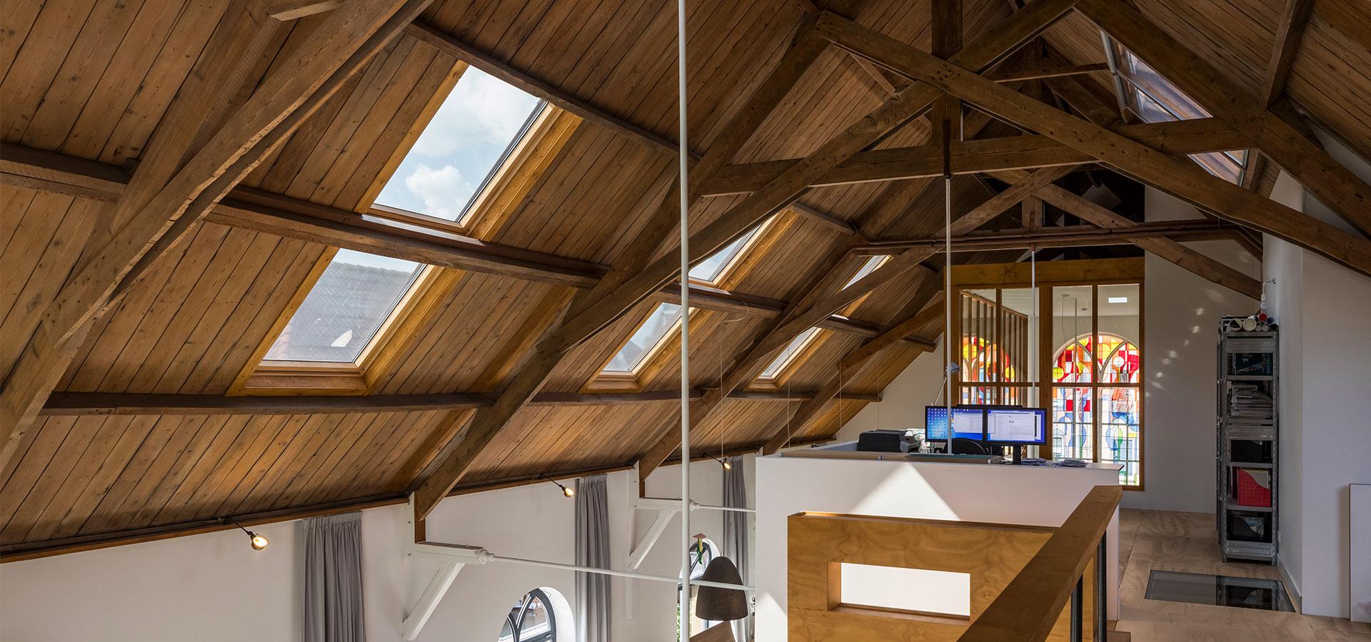 FARO architecten herbestemming kerkje Alphen aan den Rijn 08