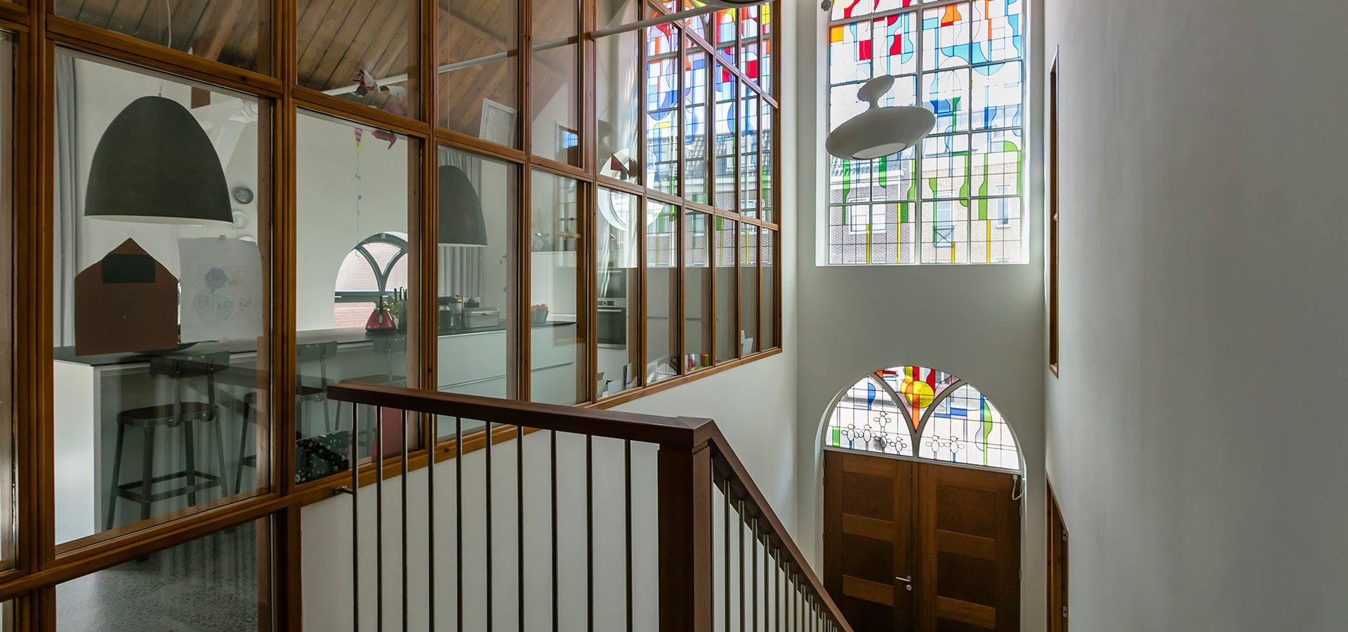 FARO architecten herbestemming kerkje Alphen aan den Rijn 09