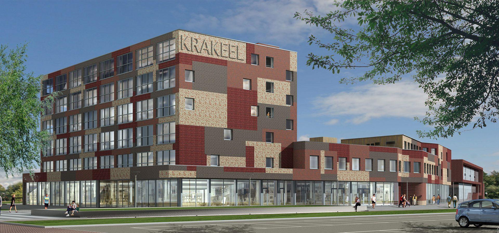 FARO architecten woon-servicegebouw Krakeel 01
