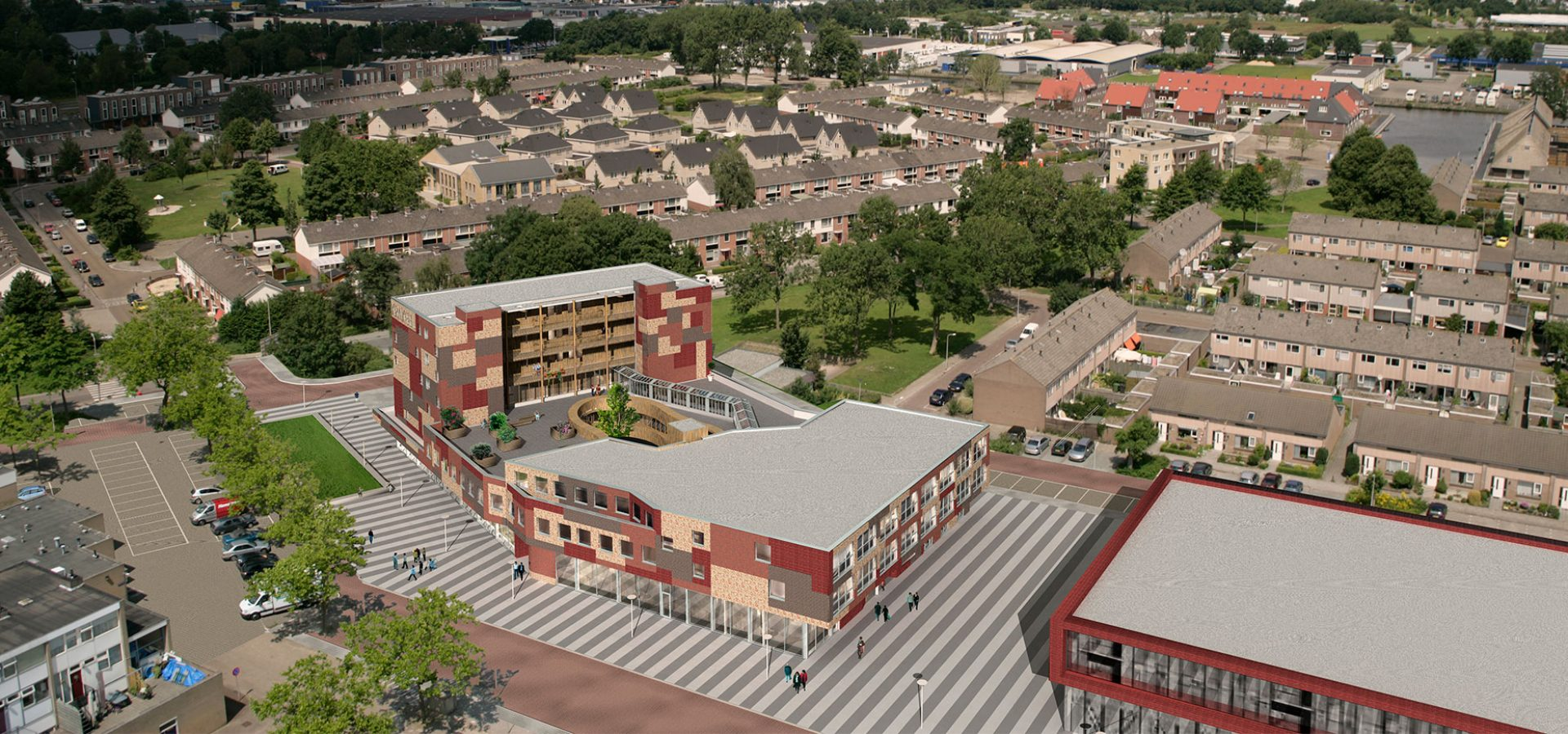 FARO architecten woon-servicegebouw Krakeel 02