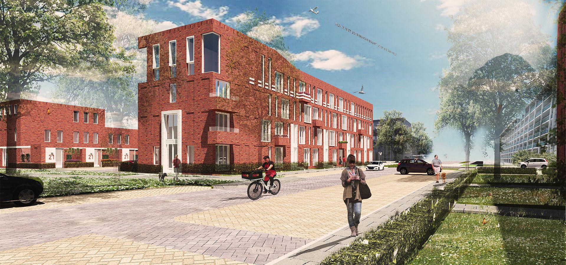 FARO architecten Jongerenwoningen Weesp 01