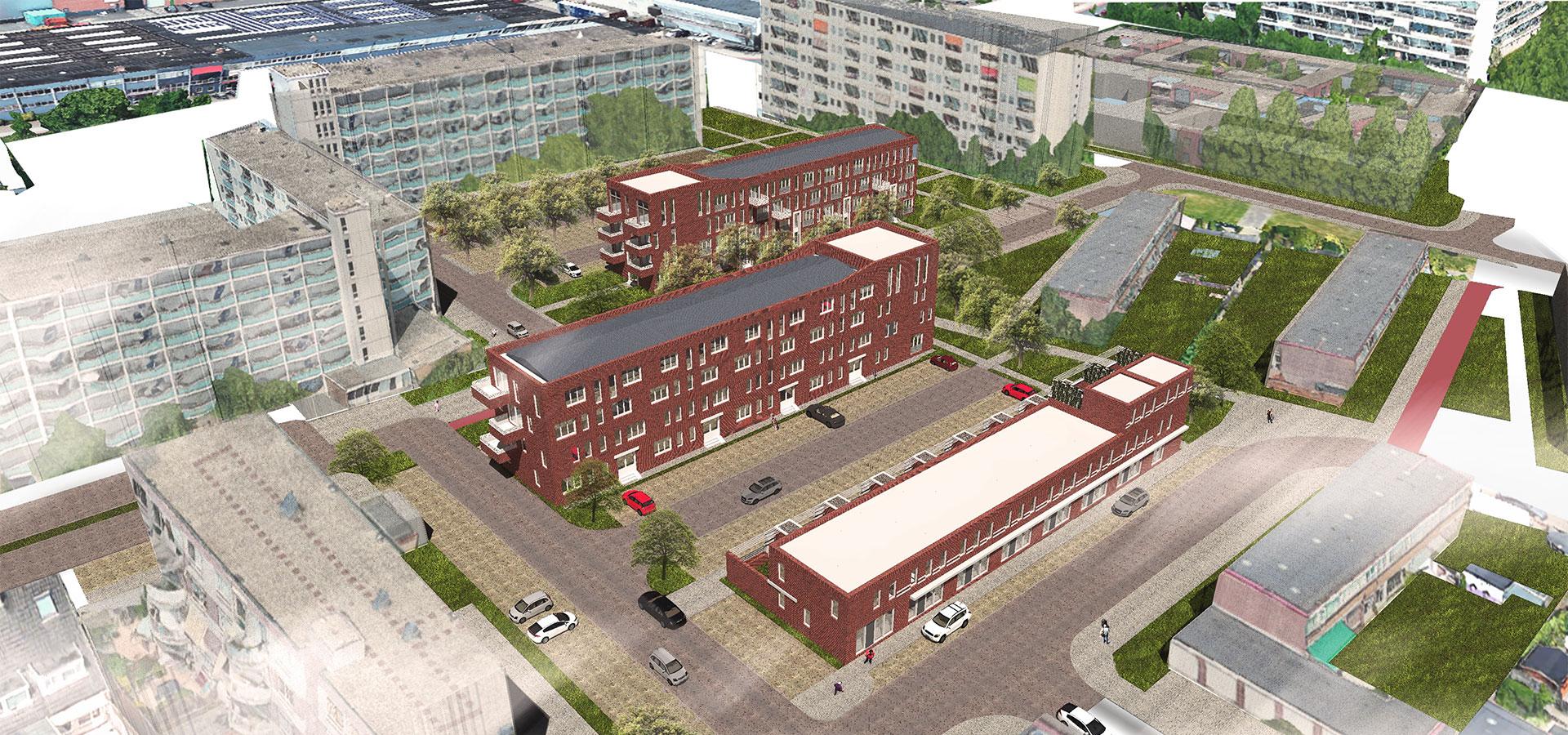 FARO architecten Jongerenwoningen Weesp 02
