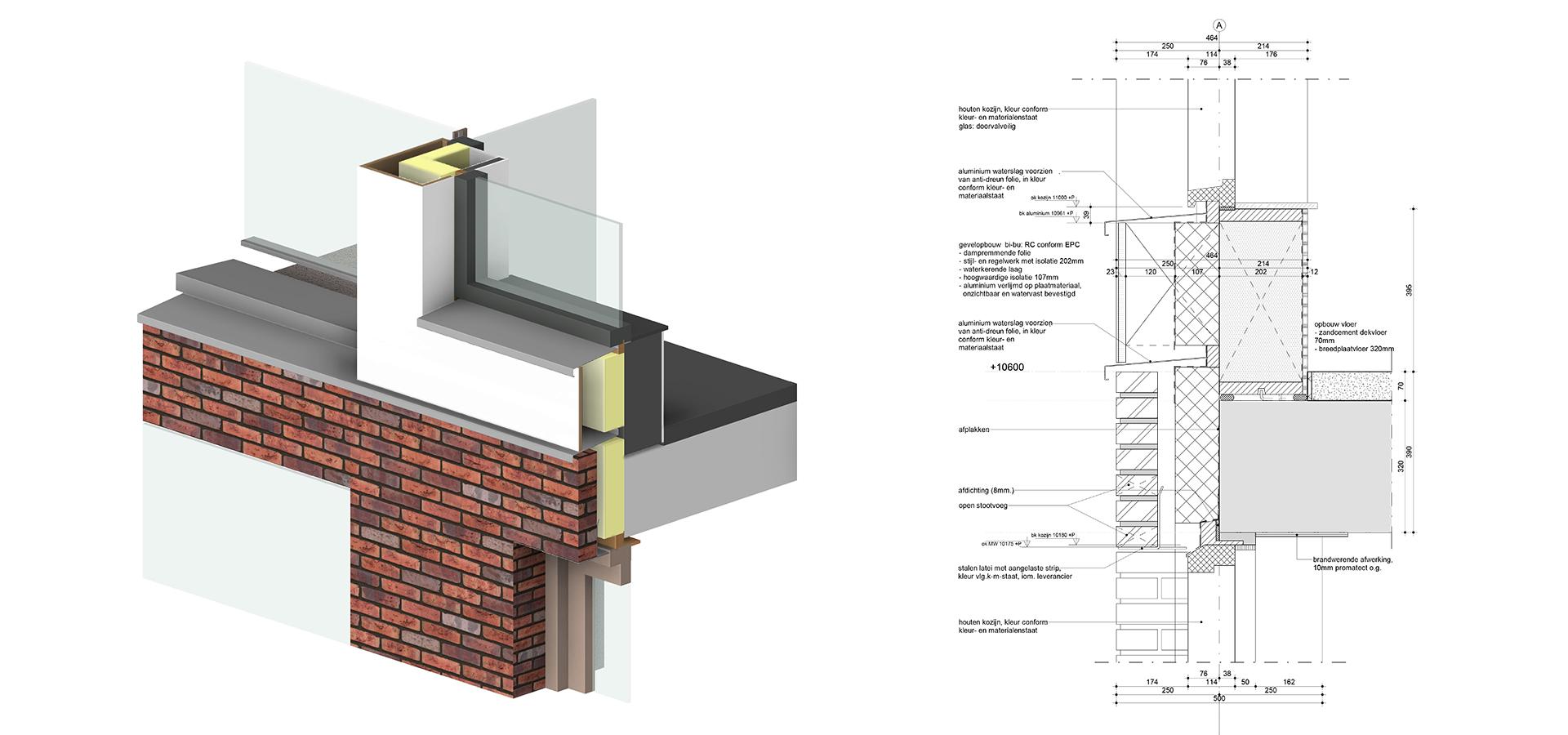 FARO architecten Hortus Utrecht Detail