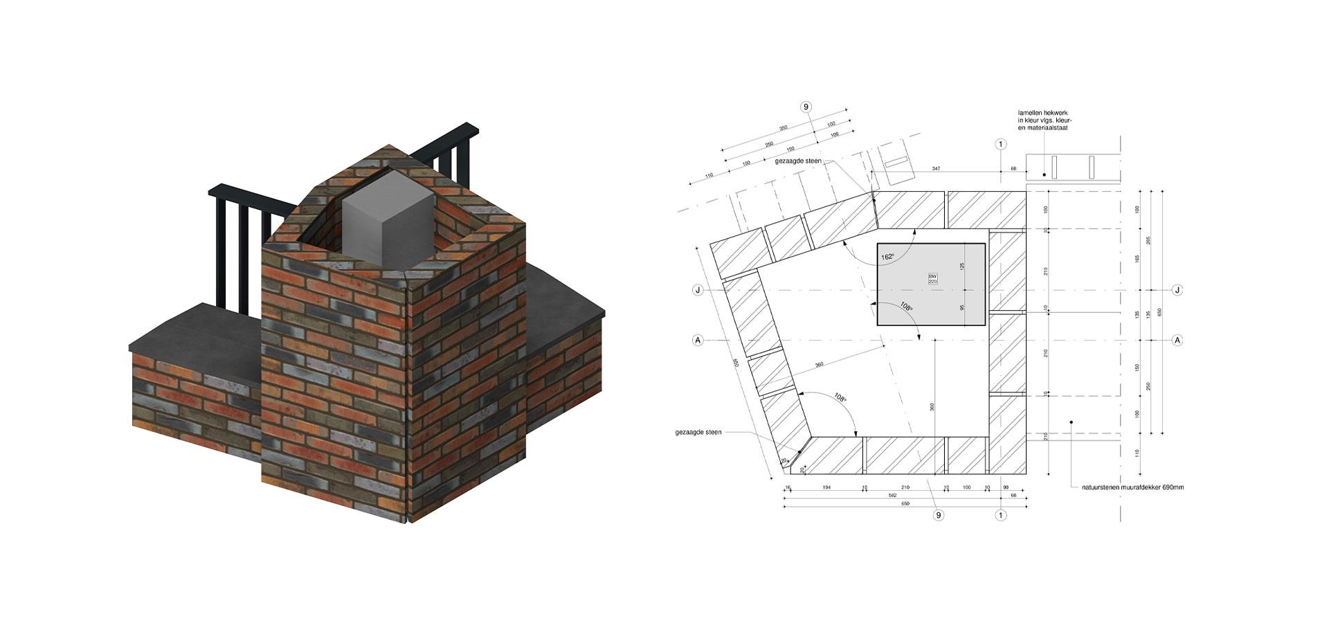 FARO architecten Krijgsman Muiden Detail
