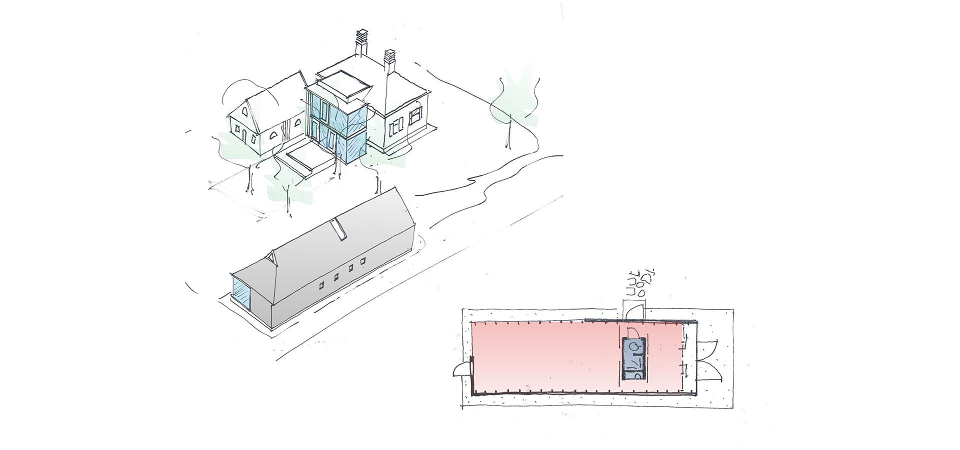 FARO architecten Aanbouw en atelier Oeken 05