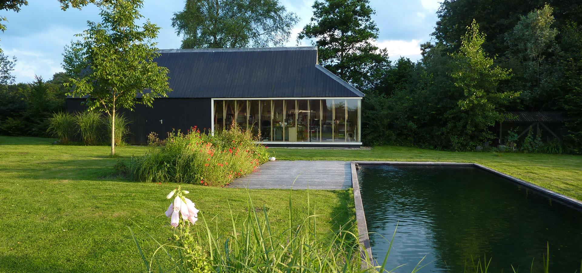 FARO architecten Aanbouw en atelier Oeken 15