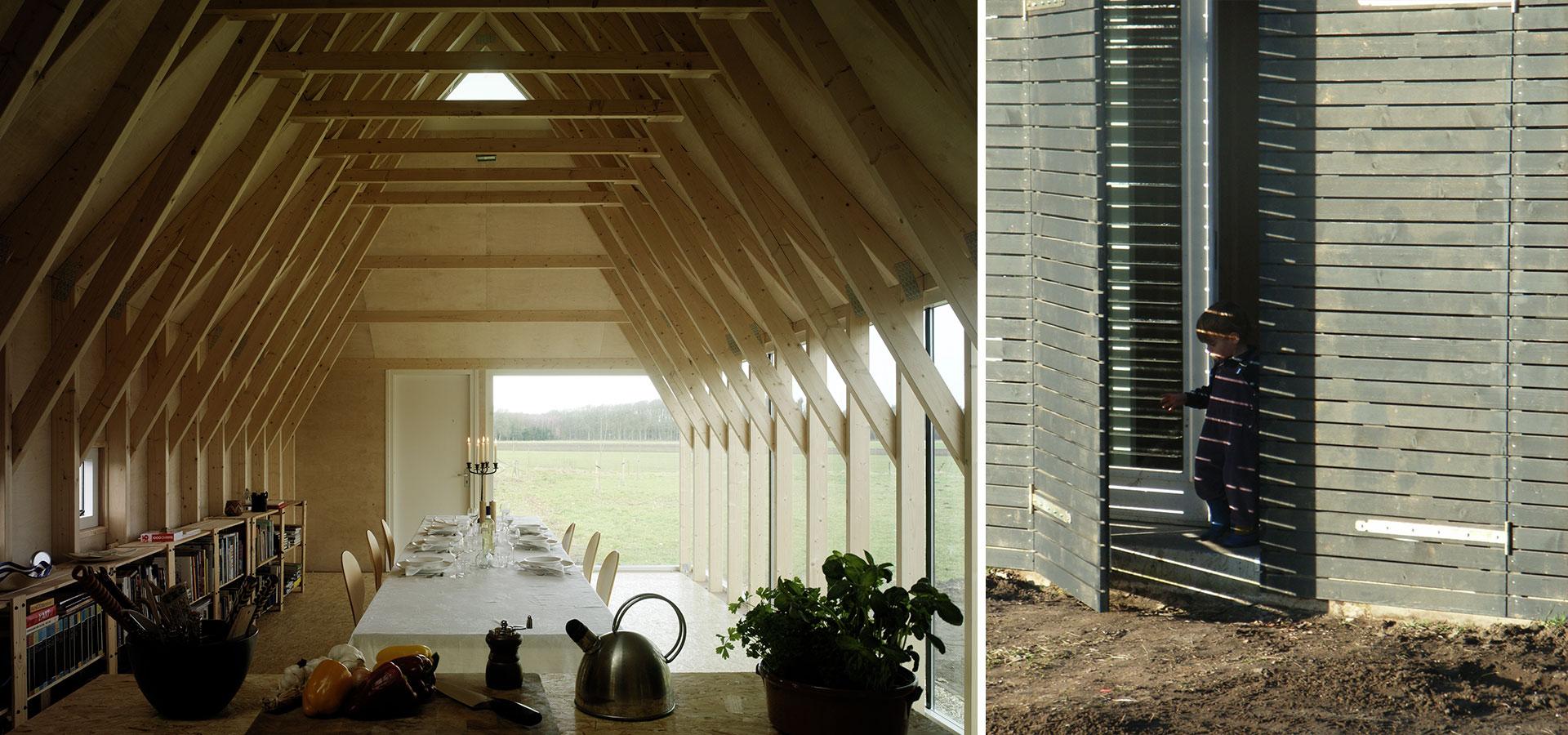 FARO architecten Aanbouw en atelier Oeken 18