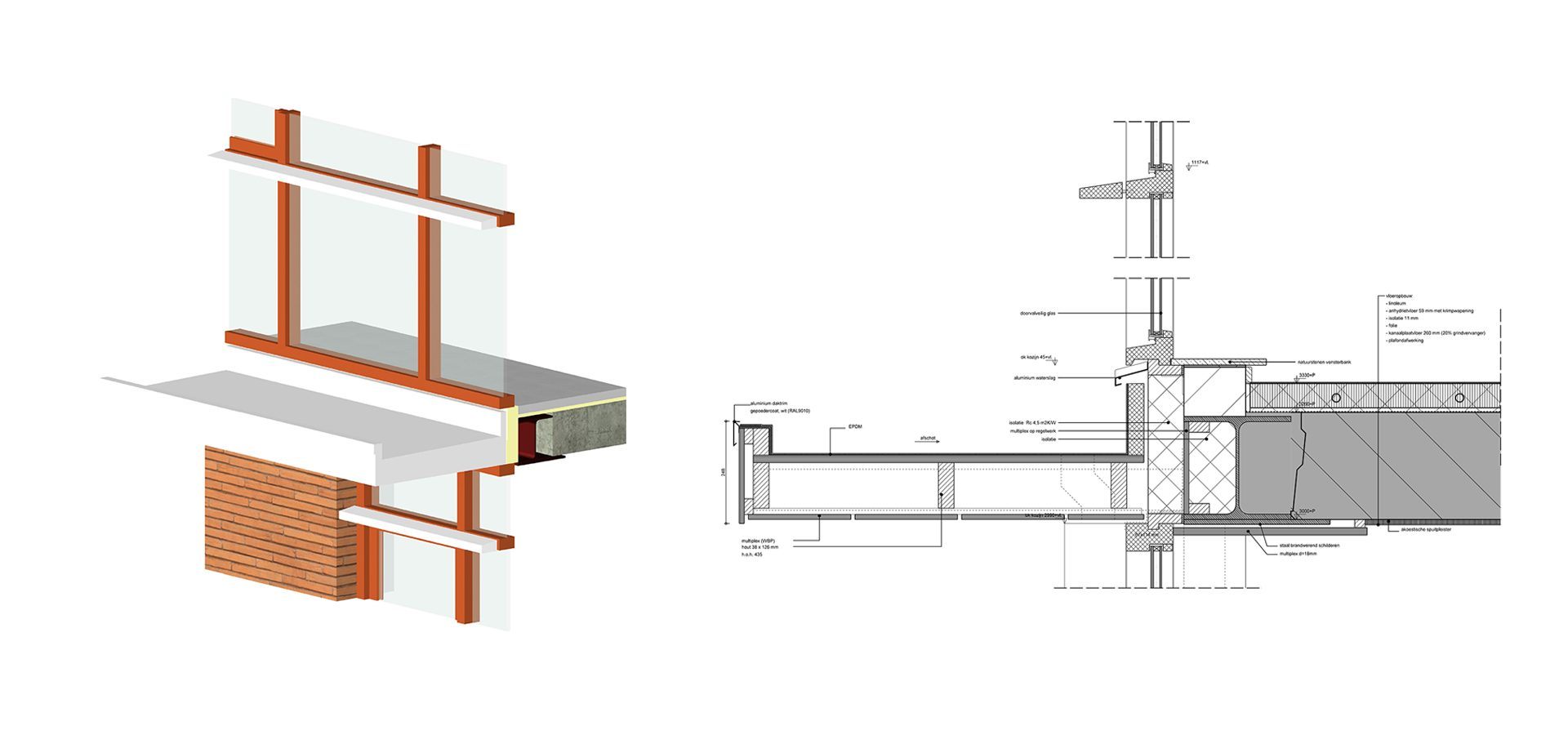 FARO architecten Dorpshuis Badhoevedorp Detail