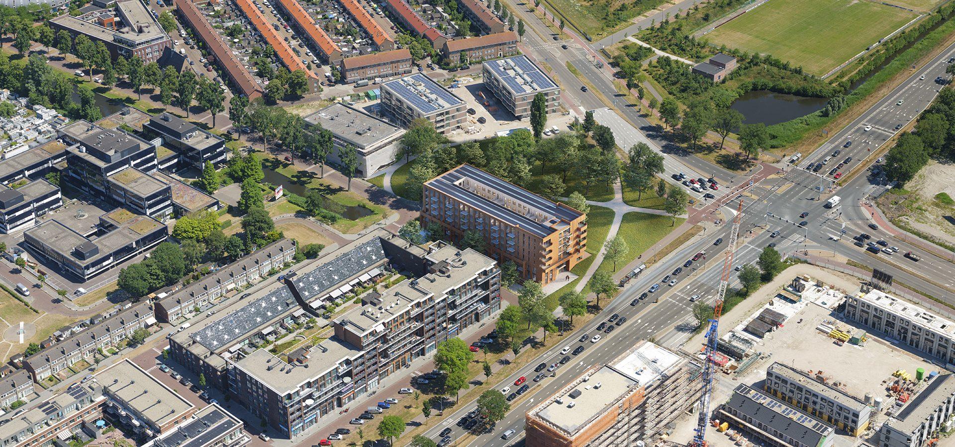 FARO architecten Blok II Haarlem 01
