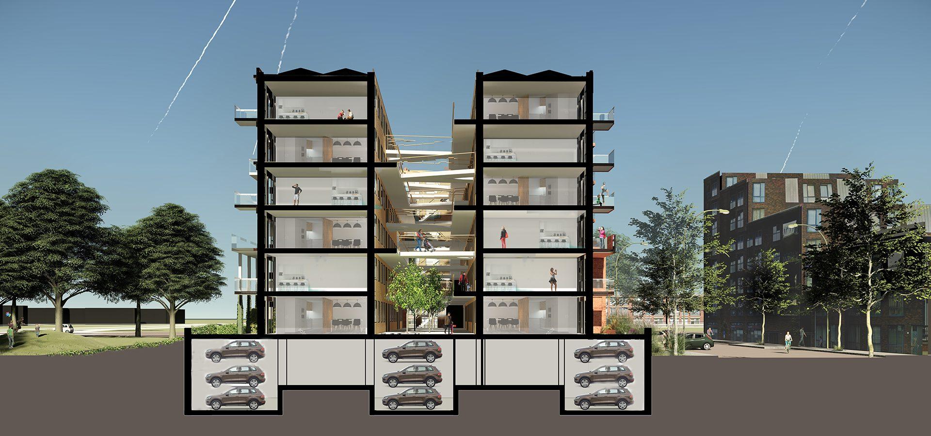 FARO architecten Blok II Haarlem 04